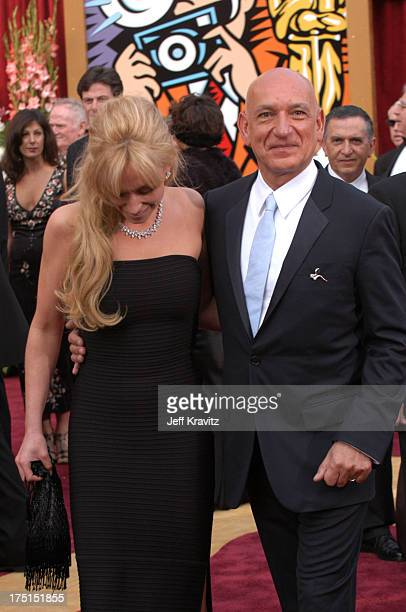 Ben Kingsley and wife Alexandra Christmann