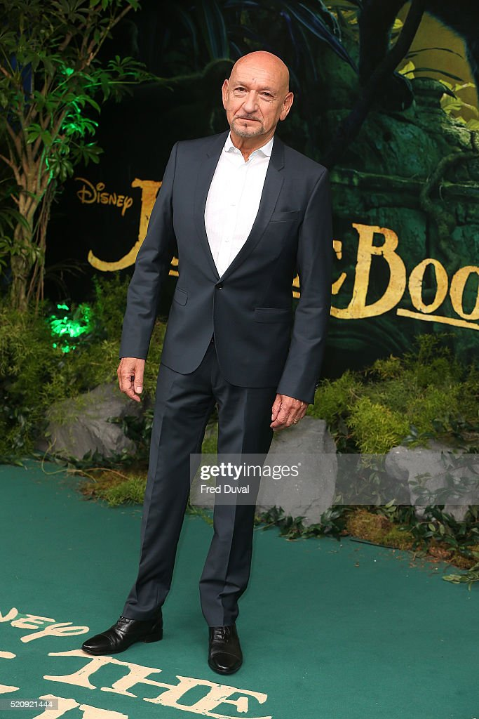 Ben Kingsley attend the UK Premiere of 'The Jungle Book'at BFI IMAX on April 13, 2016 in London, England.