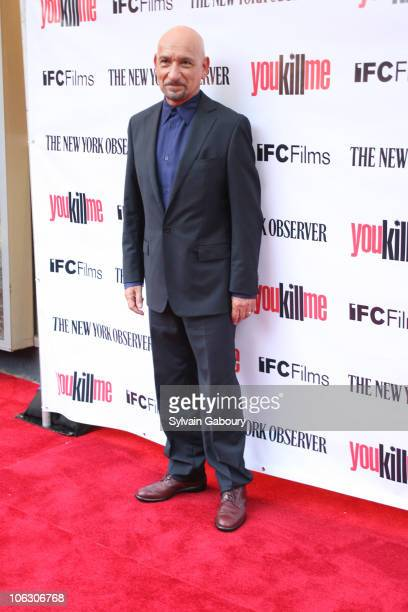 Ben Kingsley during You Kill Me New York City Premiere Arrivals at IFC Center at 323 Sixth Avenue in New York City New York United States