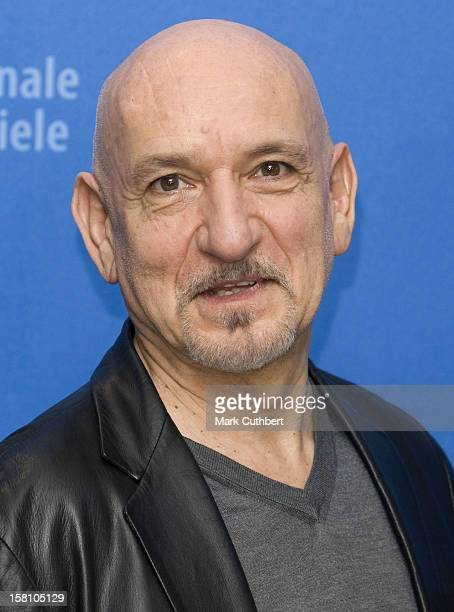 Ben Kingsley Poses For Pictures During The 'Transsiberian' Photocall At The 58Th Annual Berlin Film Festival In Berlin Germany