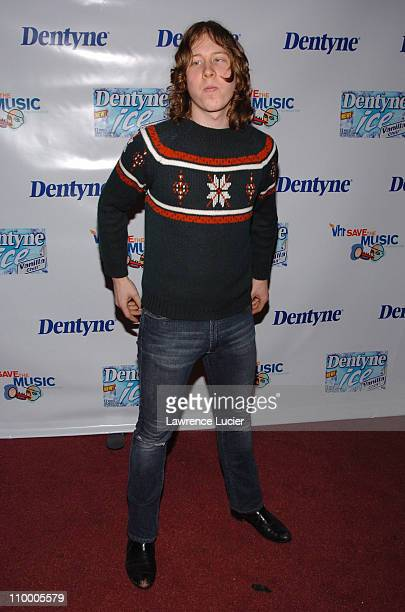 Ben Kweller during Live It Loud with Dentyne Presents The Walkmen and Ben Kweller to Benefit the VH1 Save the Music Foundation at Irving Plaza in New...