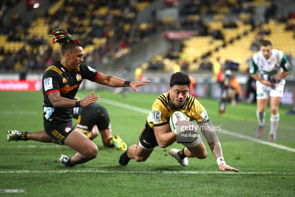 Super Rugby Qualifying Final - Hurricanes v Chiefs : News Photo
