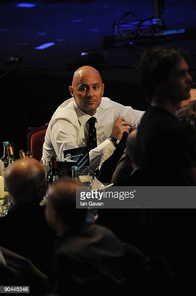 Ben Langmaid of La Roux attends the 2009 Barclaycard Mercury Prize at The Grosvenor House Hotel on September 8 2009 in London England