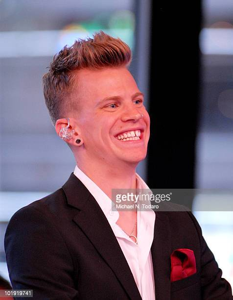 Ben Langmaid of La Roux performs on ABC's 'Good Morning America' at ABC Studios on June 9 2010 in New York City