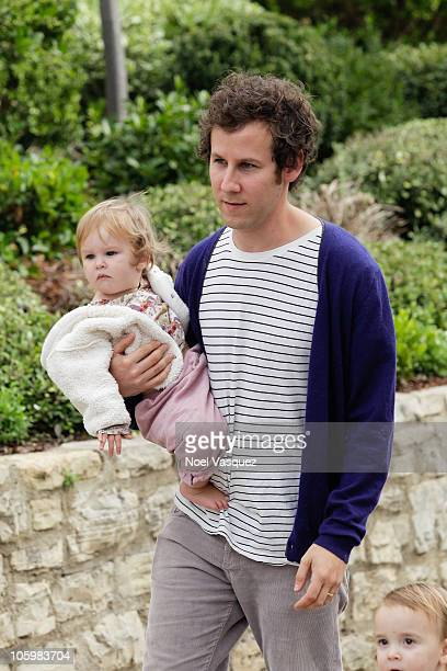 Ben Lee and daughter Goldie Priya Lee attend the Pottery Barn Kids' Halloween Carnival benefitting Operation Smile at a private residence on October...