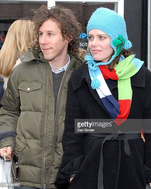 Ben Lee and Ione Skye during 2007 Park City Seen Around Town Day 3 at Streets of Park City in Park City Utah United States