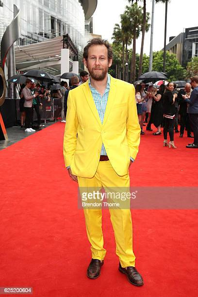 Ben Lee arrives for the 30th Annual ARIA Awards 2016 at The Star on November 23 2016 in Sydney Australia