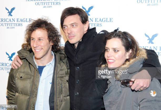 Ben Lee Donovan Leitch and Ione Skye during 2007 Park City VTA American Eagle White Out Party at Village at the Lift in Park City Utah United States