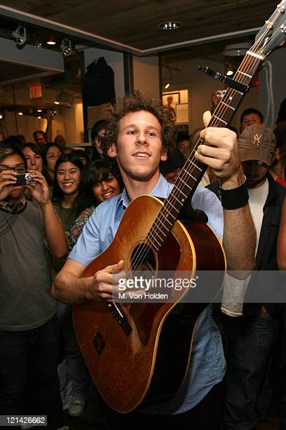 Ben Lee during American Eagle Outfitters Special Live Performance By New West Records Recording Artist Ben Lee at Amercain Eagle Outfitters Union...