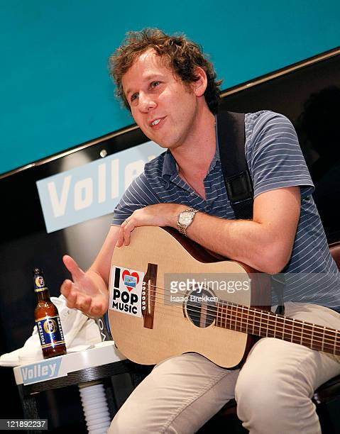 Ben Lee performs during the Volley US launch event on August 22 2011 in Las Vegas Nevada