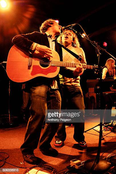 Ben Lee performs onstage with guest Har Mar Superstar at The Independent in San Francisco California USA on 24th May 2003