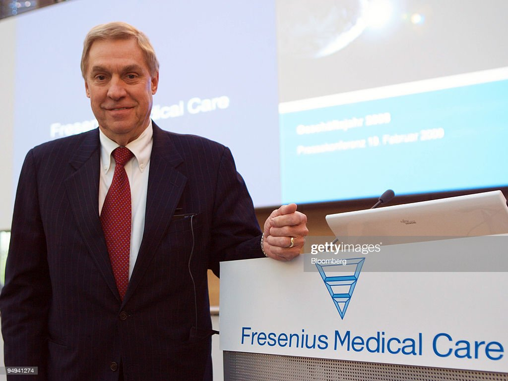 Ben Lipps, chief executive officer of Fresenius Medical Care