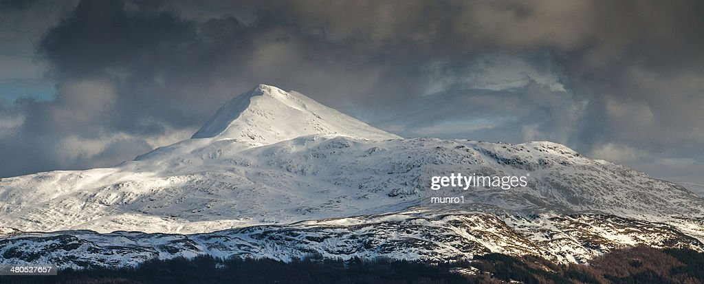 Ben Lomond en hiver : Photo