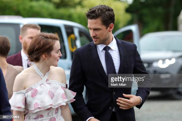 Kit Harington Wedding.60 Top Kit Harington And Rose Leslie Wedding Sightings Pictures