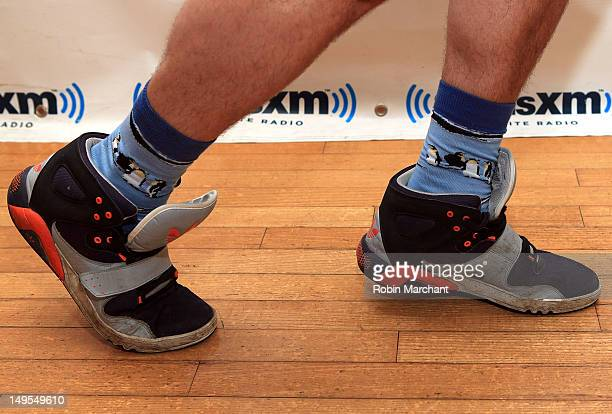 Ben Lovett of Mumford & Sons visits the Spectrum at SiriusXM Studio on July 30, 2012 in New York City.