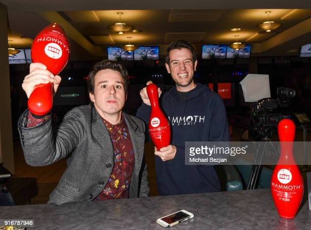 Ben Lyons and Chris Reinacher arrive at The Inaugural Mammoth Film Festival on February 10 2018 in Mammoth Lakes California