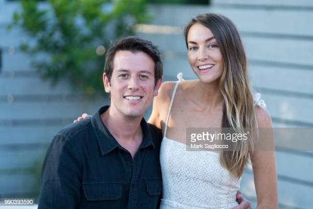 Ben Lyons and Mariah Lyons attend Hamptons Magazine and Carbon 38 Presention of An Evening Of Crystal Healing with Mariah Lyons at Carbon38 on July 2...