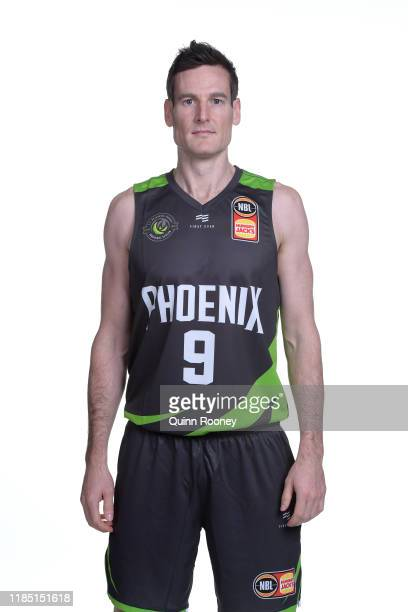 Ben Madgen of the South East Melbourne Phoenix poses during the 2019/20 NBL Season Media Day at NEP Studios on September 17, 2019 in Melbourne,...