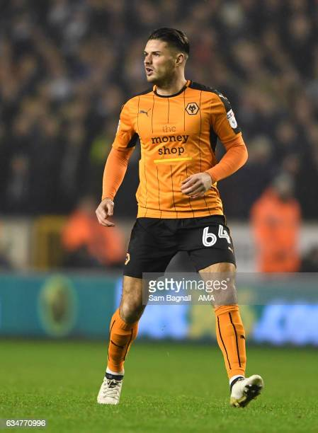 Ben Marshall of Wolverhampton Wanderers during the Sky Bet Championship match between Wolverhampton Wanderers and Newcastle United at Molineux on...