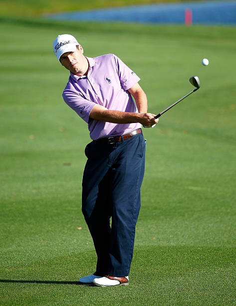 Ben Martin plays a shot during a practice round prior to the Arnold Palmer Invitational presented