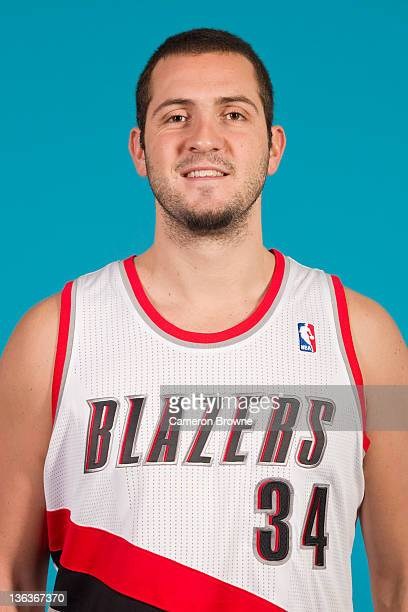 Ben McCauley of the Portland Trail Blazers poses for a portrait during Media Day on December 16 2011 at the Rose Garden Arena in Portland Oregon NOTE...