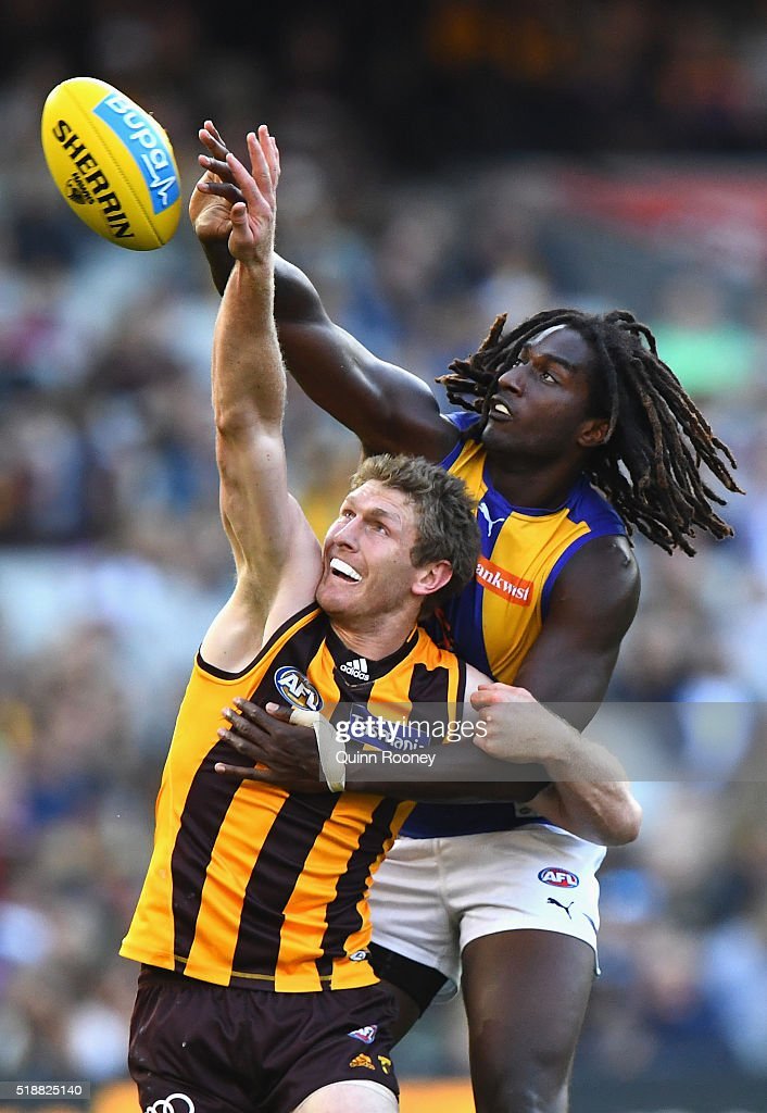 AFL Rd 2 - Hawthorn v West Coast