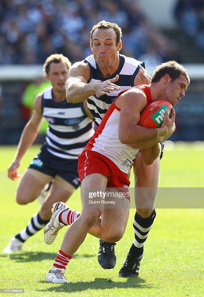 AFL Rd 23 - Geelong v Sydney