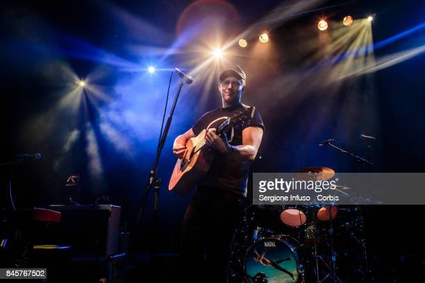 Ben McKelvey opens the concert of English pop/rock supergroup Mike + The Mechanics on September 11, 2017 in Milan, Italy.