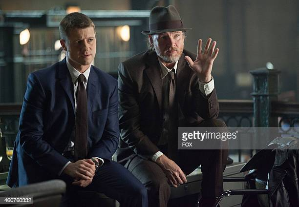 Ben McKenzie and Donal Logue in the 'Harvey Dent' episode of GOTHAM airing Monday Nov 17 2014 on FOX