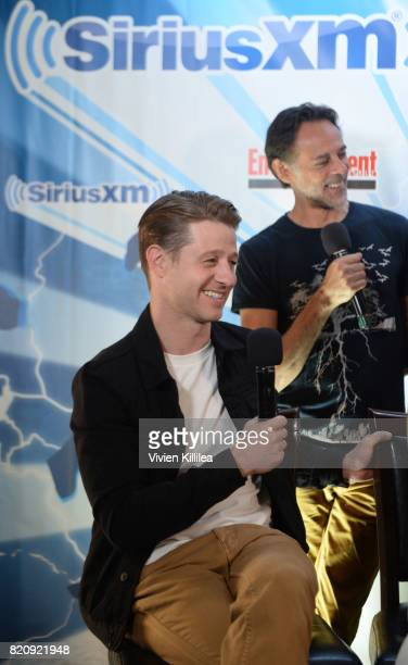 Ben McKenzie attends SiriusXM's Entertainment Weekly Radio Channel Broadcasts From Comic Con 2017 at Hard Rock Hotel San Diego on July 22 2017 in San...