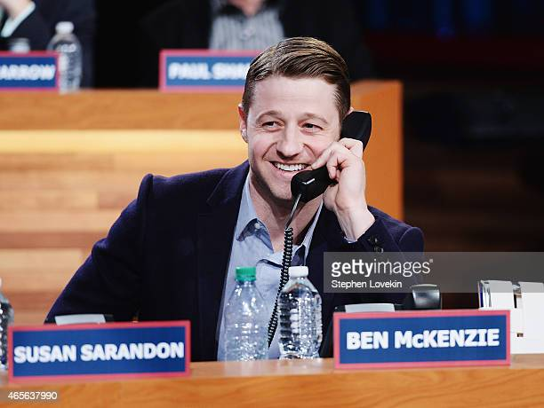 Ben McKenzie attends The Night Of Too Many Start Live Telethon on March 8 2015 in New York City