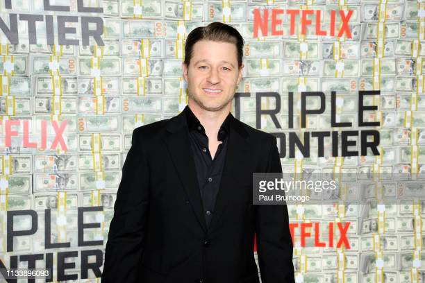 """Ben McKenzie attends """"Triple Frontier"""" World Premiere at Jazz at Lincoln Center on March 3, 2019 in New York City."""