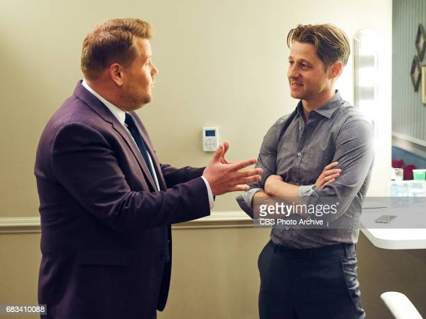 Ben McKenzie chats in the green room with James Corden during 'The Late Late Show with James Corden' Wednesday May 10 2017 On The CBS Television...