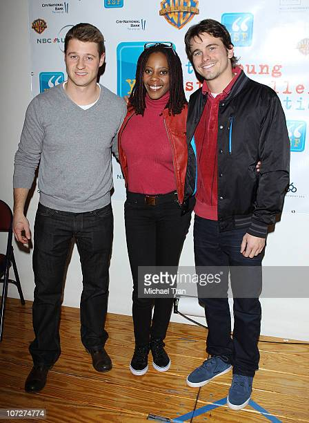 Ben McKenzie Debra Wilson and Jason Ritter attend The Young Storytellers Foundation's Annual The Big Show event held at Crossroads Elementary School...
