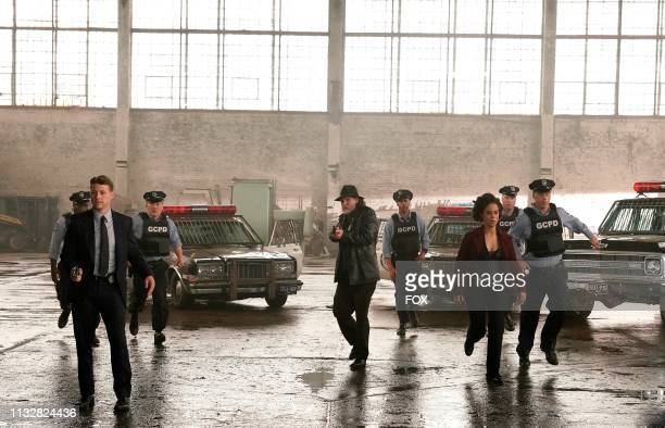 Ben McKenzie Donal Logue and guest star Kelcy Griffin in the Year Zero season premiere episode of GOTHAM airing Thursday Jan 3 on FOX