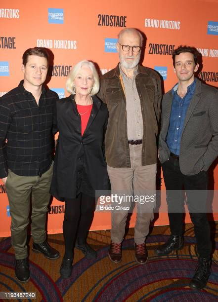 Ben McKenzie Jane Alexander James Cromwell and Michael Urie attend a meet and greet for Second Stage Theater's upcoming production of Grand Horizons...