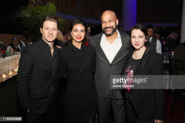 Ben McKenzie Morena Baccarin KeeganMichael Key and Elisa Pugliese attend Netflix World Premiere of TRIPLE FRONTIER at Lincoln Center on March 03 2019...