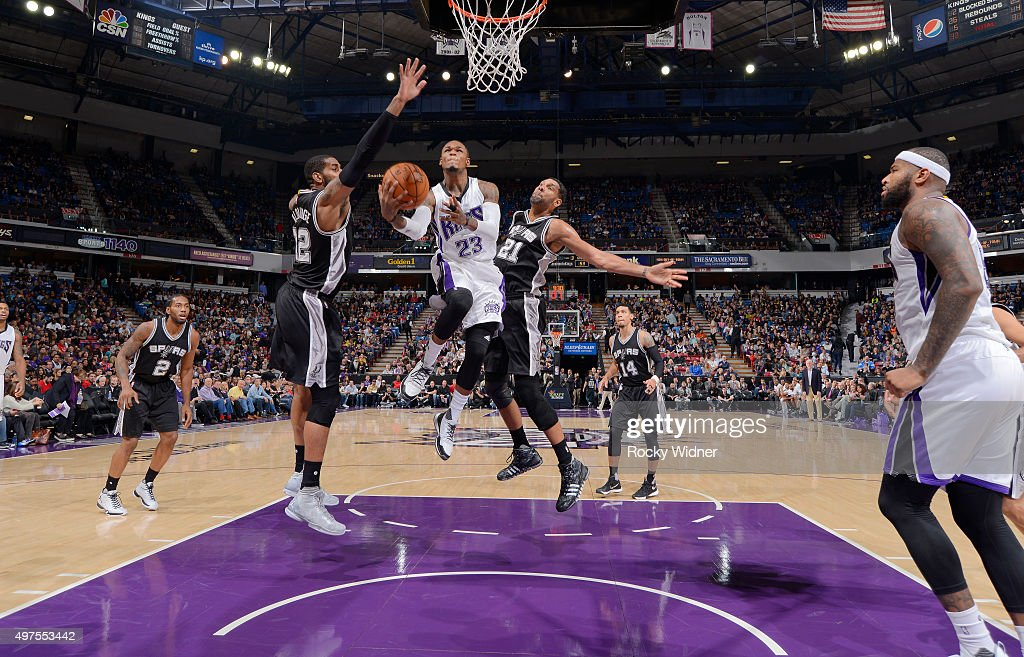 San Antonio Spurs v Sacramento Kings : News Photo