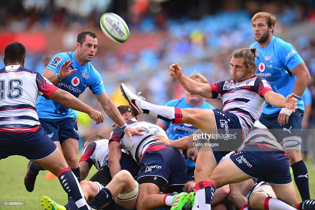 super rugby rd 2 bulls v rebelsの写真およびイメージ ゲッティ