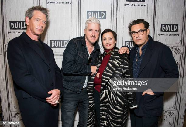 Ben Mendelsohn Anthony McCarten Kristin Scott Thomas and Joe Wright attend AOL Build Series at Build Studio on November 15 2017 in New York City