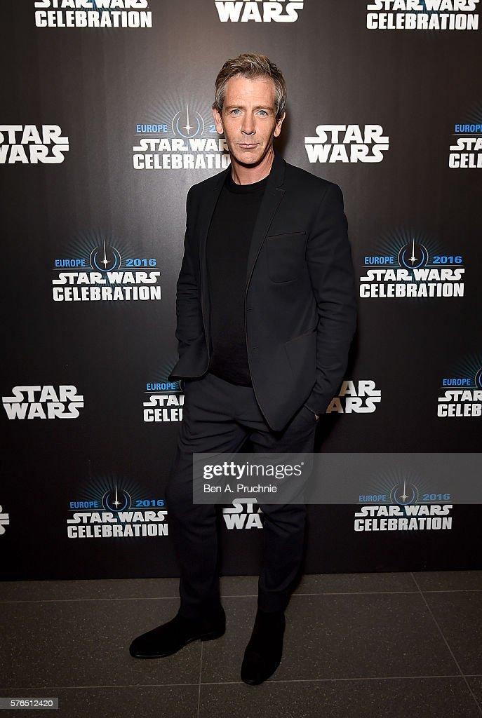 Ben Mendelsohn at the Star Wars Celebration at ExCel on July 15, 2016 in London, England.