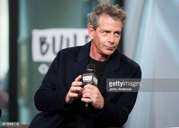 Ben Mendelsohn attends AOL Build Series at Build Studio on November 15 2017 in New York City