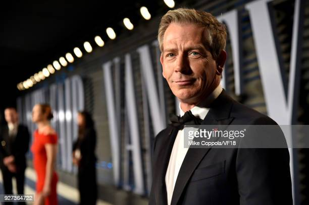 Ben Mendelsohn attends the 2018 Vanity Fair Oscar Party hosted by Radhika Jones at Wallis Annenberg Center for the Performing Arts on March 4 2018 in...