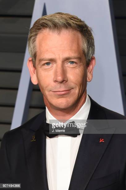 Ben Mendelsohn attends the 2018 Vanity Fair Oscar Party hosted by Radhika Jones at the Wallis Annenberg Center for the Performing Arts on March 4...