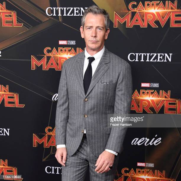 Ben Mendelsohn attends the Marvel Studios Captain Marvel premiere on March 04 2019 in Hollywood California