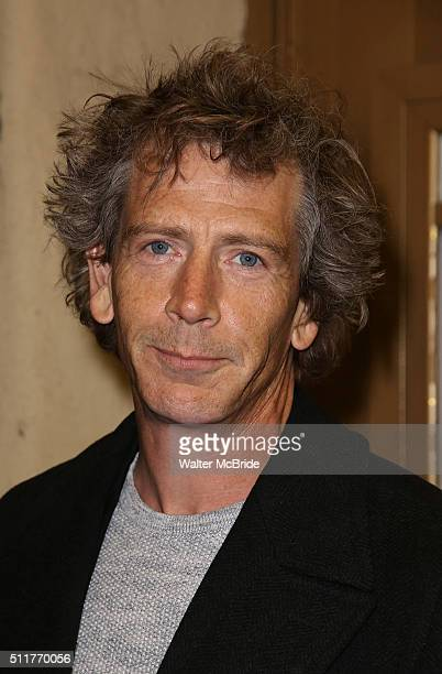 Ben Mendelsohn attends the OffBroadway opening night performance of 'Smokefall' at Lucille Lortel Theatre on February 22 2016 in New York City