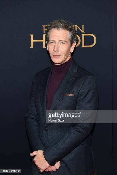 Ben Mendelsohn attends the Robin Hood New York screening at AMC Lincoln Square Theater on November 11 2018 in New York City