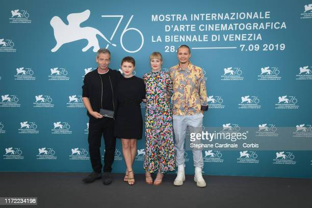 Ben Mendelsohn Eliza Scanlen Shannon Murphy and Toby Wallace attend Babyteeth photocall during the 76th Venice Film Festival on September 04 2019 in...