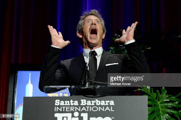 Ben Mendelsohn presents onstage at The Santa Barbara International Film Festival on February 2 2018 in Santa Barbara California