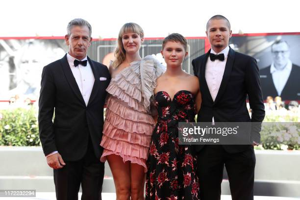 Ben Mendelsohn Shannon Murphy Eliza Scanlen and Toby Wallace walk the red carpet ahead of the Babyteeth screening during the 76th Venice Film...